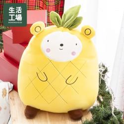 【生活工場】動物果友會-菠菠熊抱枕