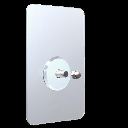 AF045 無痕掛勾 長方型 10入 螺絲貼 免釘強力無痕掛勾貼 黏貼 門後掛勾 強力黏膠 魔力貼 無痕 壁掛 免打洞 浴室廚房