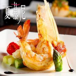 【東森獨家】夏慕尼鐵板燒餐券-4張