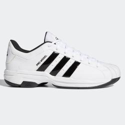 【現貨】Adidas PRO MODEL 2G LOW 男鞋 籃球 休閒 皮革 耐磨 柔軟 白黑【運動世界】FX4981
