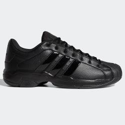 【現貨】Adidas PRO MODEL 2G LOW 男鞋 籃球 休閒 皮革 耐磨 柔軟 全黑【運動世界】FX7100