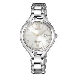 CITIZEN星辰 EW2560-86A 光動能鈦金屬腕錶