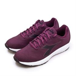 【DIADORA】女 迪亞多那 防潑水輕量慢跑鞋 FLAMINGO 4 WIN系列(葡萄紫 174890-C8131)