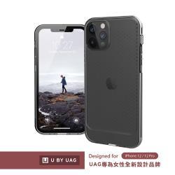 [U] iPhone 12/12 Pro 耐衝擊保護殼-亮透黑