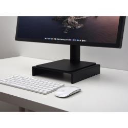 Jokitech 鋁合金螢幕支架 螢幕增高支架 顯示器支架 iMac支架 螢幕增高架 電腦架 黑色