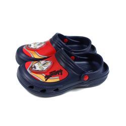 超人力霸王 休閒鞋 花園鞋 童鞋 藍色 中童 UM0282 no873