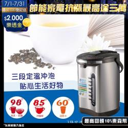 大家源 304不鏽鋼3段定溫電動熱水瓶 TCY-2025 加送檸檬酸清洗劑一包
