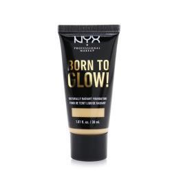 NYX Born To Glow!自然光彩粉底液-#中號淺黃色 30ml/1.01oz