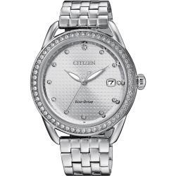 CITIZEN星辰 FE6111-87A 光動能腕錶