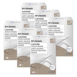 台塑生醫Dr's Formula咖啡因抗老潤澤面膜(5片/盒)*6盒入