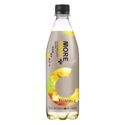 【味丹】MORE+維他命100氣泡水(百香果風味)560ml(24入/箱)