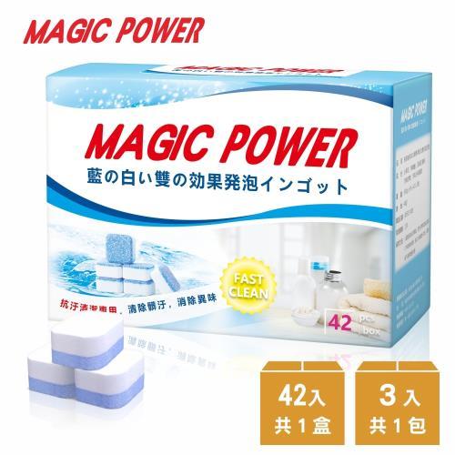 藍白雙效洗衣槽霉斑水垢皂垢專用清潔錠/