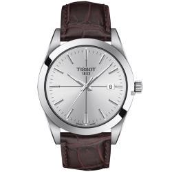 TISSOT 天梭 紳士石英手錶-40mm(T1274101603101)
