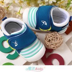 魔法Baby 寶寶鞋 阿諾帕瑪授權正版防撞護趾幼兒防滑外出鞋~sk1101
