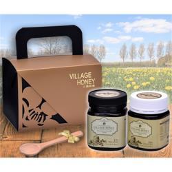 【小鎮蜂蜜台灣唯一總代理】紐西蘭麥蘆卡蜂蜜頂級雙罐禮盒 (天然活性25+ & 乳化活性20+)