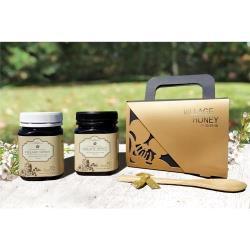 【小鎮蜂蜜台灣唯一總代理】紐西蘭麥蘆卡蜂蜜雙罐超值禮盒 (天然活性20+ & 乳化活性15+)