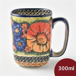 波蘭陶 滿城絕艷系列 陶瓷馬克杯 300ml 波蘭手工製