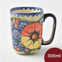 波蘭陶 古典花園系列 陶瓷馬克杯 300ml 波蘭手工製