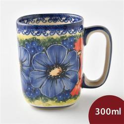 波蘭陶 仲夏紫蜜系列 陶瓷馬克杯 300ml 波蘭手工製