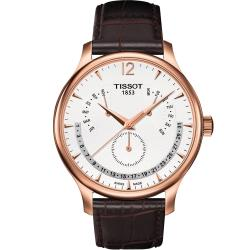 TISSOT 天梭 Tradition系列永恆日期腕錶(T0636373603700)42mm