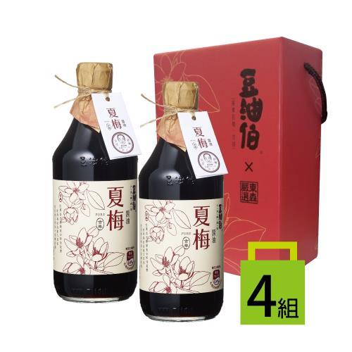 東森嚴選豆油伯驛客夏梅醬油熱銷回饋禮盒組/