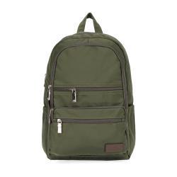 J II 後背包-極限水洗雙拉鍊後背包-橄欖綠-6566-15