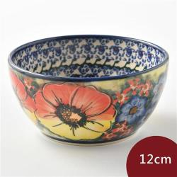 波蘭陶 古典花園系列 餐碗 12cm 波蘭手工製