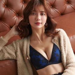 【蕾黛絲】半糖愛情V真水 B-C罩杯內衣(半熟藍黑)