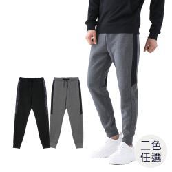 GIORDANO 男裝拼接設計感束口褲 (多色任選)