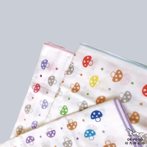 【OKPOLO】台灣製造麻紗運動巾6條裝/