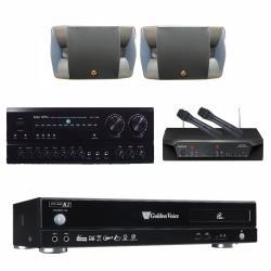 金嗓 CPX-900 R2伴唱機 4TB+BASA NOVA PA-7150+CHIAYO NDR-2120+O ya ko P-500
