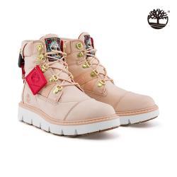 Timberland 女款淺粉色全粒面革雷伍德防水6吋靴A2PXQ662