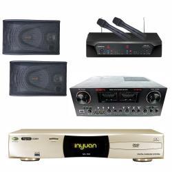 音圓 S-2001 N2-150點歌機4TB+MORITA MA989 PRO+CHIAYO NDR-2120+SUGAR SK-8800V