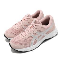 Asics 慢跑鞋 Gel Contend 6 女鞋 亞瑟士 路跑 耐磨 緩衝 入門 亞瑟膠 粉 銀 1012A570702 [ACS 跨運動]