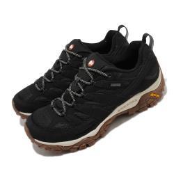 Merrell 戶外鞋 Moab 2 GTX 低筒 男鞋 登山 越野 耐磨 黃金大底 防潑水 黑 棕 ML035485 [ACS 跨運動]