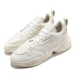 adidas 休閒鞋 Supercourt RX 流行 男鞋 海外限定 愛迪達 三葉草 皮革鞋面 穿搭 米 藍 EG6864 [ACS 跨運動]