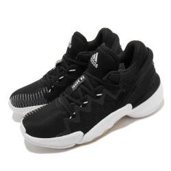 adidas 籃球鞋 DON Issue 2 GCA 男鞋 愛迪達 運動 緩震 透氣 NBA球星 黑 白 FW9042 [ACS 跨運動]
