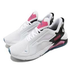 Puma 慢跑鞋 LQDCELL Method 運動 女鞋 輕量 透氣 舒適 避震 路跑 健身 白 粉 19378003 [ACS 跨運動]