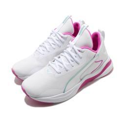 Puma 慢跑鞋 Softride Rift Tech 女鞋 輕量 透氣 舒適 避震 路跑 健身 白 粉 19374802 [ACS 跨運動]