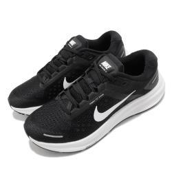 Nike 慢跑鞋 Zoom Structure 23 女鞋 氣墊 避震 路跑 運動 健身 球鞋 黑 白 CZ6721001 [ACS 跨運動]