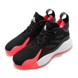 adidas 籃球鞋 D Rose 773 2020 男鞋 愛迪達 飆風玫瑰 中筒 透氣 緩震 黑 粉 FW8663 [ACS 跨運動]