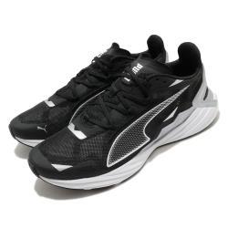 Puma 慢跑鞋 UltraRide 運動 男鞋 輕量 透氣 舒適 避震 路跑 健身 黑 銀 19375301 [ACS 跨運動]