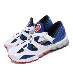 Asics 休閒鞋 Gel-Tarther 180 復古 女鞋 亞瑟士 襪套 緩衝 舒適 亞瑟膠 白 藍 1022A296400 [ACS 跨運動]