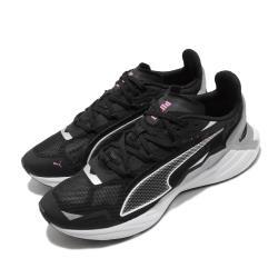Puma 慢跑鞋 UltraRide 運動 女鞋 輕量 透氣 舒適 避震 路跑 健身 黑 粉 19375601 [ACS 跨運動]