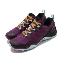 Merrell 戶外鞋 Siren 3 GTX 運動 女鞋 登山 越野 耐磨 黃金大底 防潑水 透氣 紫 藍 ML034994 [ACS 跨運動]