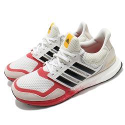 adidas 慢跑鞋 Ultraboost DNA 襪套 男鞋 海外限定 愛迪達 反光 緩震 穿搭 流行 米 紅 FW4905 [ACS 跨運動]