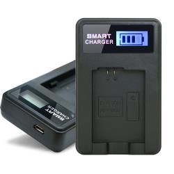 YHO 單槽 液晶顯示充電器(Micro輸入) for SONY NP-FW50