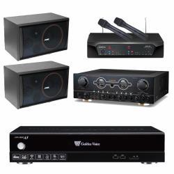 金嗓 CPX-900 A5伴唱機 4TB+FAMER FM-150A+CHIAYO NDR-2120+SUGAR SK-8210