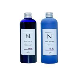 NAPLA 娜普菈_ N.系列 炫彩洗髮精320ml/炫彩護髮乳300ml【藍紫】