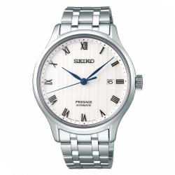 SEIKO精工Presage設計不鏽鋼機械錶41mm(4R35-02S0S/SRPC79J1)